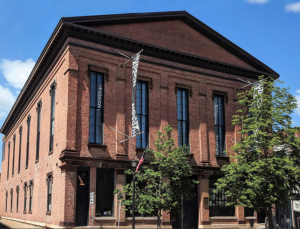 Front of Hudson Hall Opera House