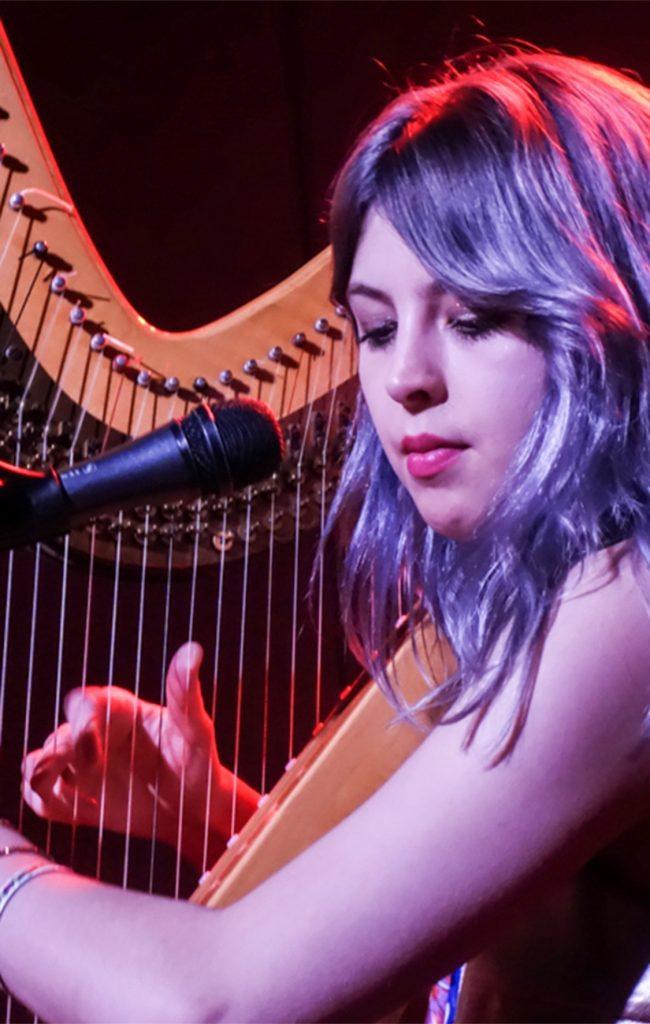 Mikaela Davis performs
